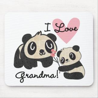 Liebe-Großmutter der Panda-Bärn-I Mousepads