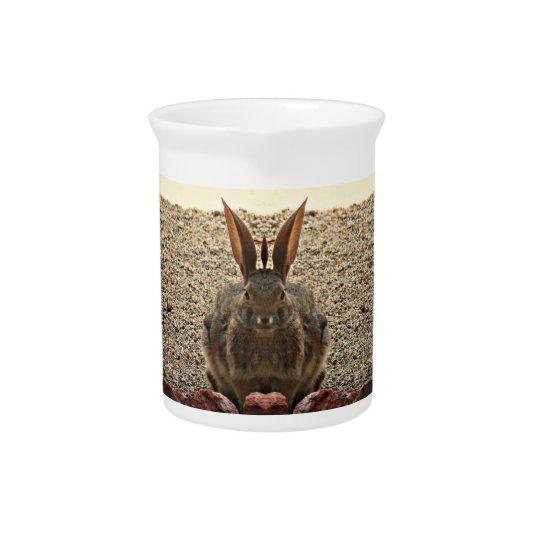 Liebe-Häschen-Porzellan-Krug Getränke Pitcher