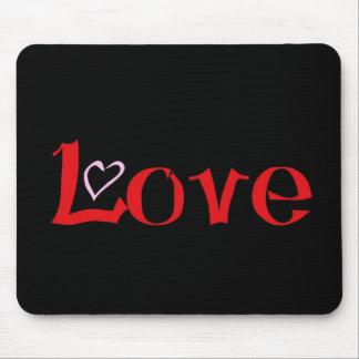 Liebe-Herz Mousepads