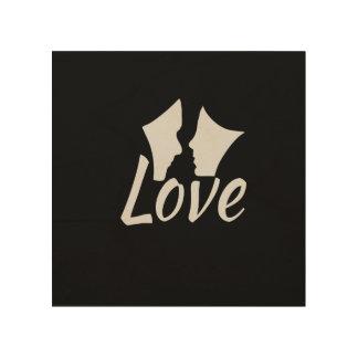 Liebe Holzdruck