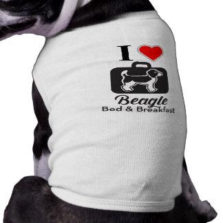 Liebe I Beagle-Bett- u. Frühstückshündchen-Shirt Shirt