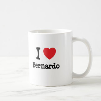 Liebe I Bernardo-Herzgewohnheit personalisiert Tasse