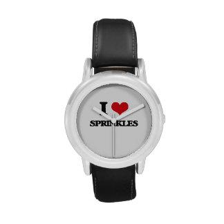 Liebe I besprüht Uhr