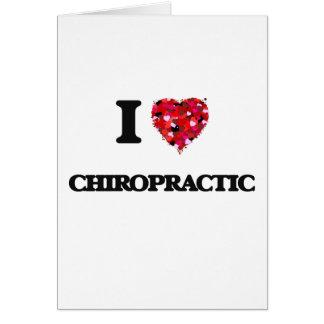 Liebe I Chiropraktik Karte