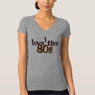 Liebe I das 80er T-Stück Hemd
