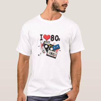 Liebe I der 80er T - Shirt