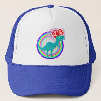 Liebe I Dinosaurier-blaue Dinosaurier T-Rex Truckerkappe