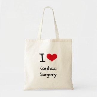 Liebe I HerzOperation Budget Stoffbeutel