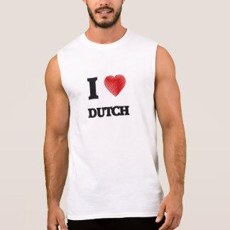 Liebe I Holländer Ärmelloses Shirt