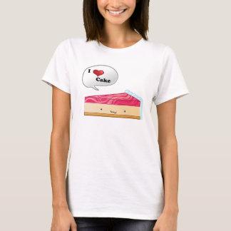 Liebe I Käsekuchen T-Shirt