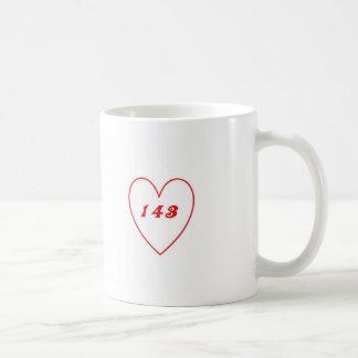 Liebe, i-Liebe Sie Kaffeetasse
