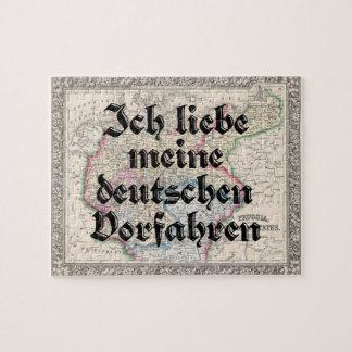 Liebe I mein deutsches kundenspezifisches Puzzle