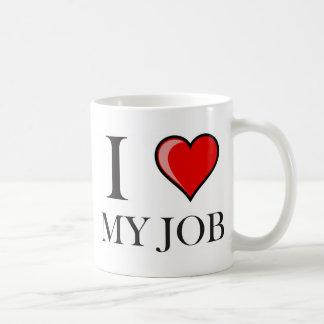 Liebe I mein Job Tasse