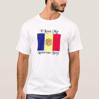 Liebe I meine andorranischen Jungen T-Shirt