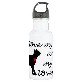 Liebe I meine Katze und meine Katzen-Lieben ich Edelstahlflasche