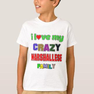 Liebe I meine verrückte Marshallese Familie T-Shirt