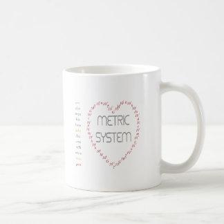 Liebe I metrisches System Tasse