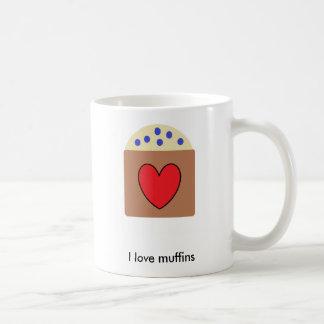 Liebe I Muffins Kaffeetasse
