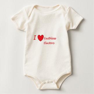 Liebe I pflichtvergessene Wähler Baby Strampler
