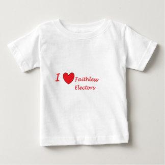 Liebe I pflichtvergessene Wähler Baby T-shirt