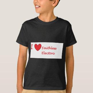 Liebe I pflichtvergessene Wähler T-Shirt