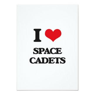 Liebe I Raum-Kadetten 12,7 X 17,8 Cm Einladungskarte