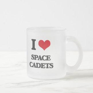 Liebe I Raum-Kadetten Matte Glastasse