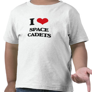 Liebe I Raum-Kadetten T Shirt