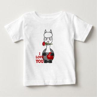 Liebe I Sie Alpaka Baby T-shirt