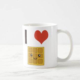 Liebe I Waffeln Tasse