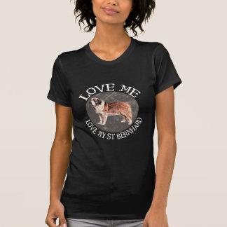 Liebe ich, Liebe mein Bernhardiner T-Shirt