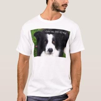 Liebe ich, Liebe mein Hund: Schäferhund T-Shirt