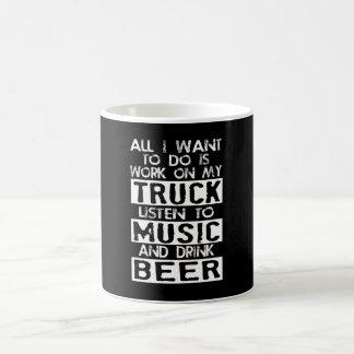 Liebe Ihr Diesel-LKW? Tasse