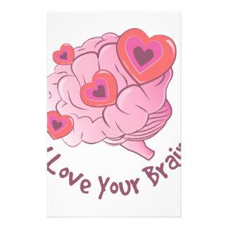 Liebe Ihr Gehirn Individuelles Büropapier