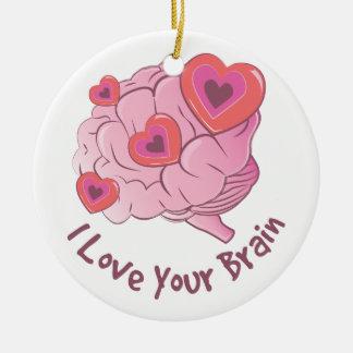 Liebe Ihr Gehirn Keramik Ornament