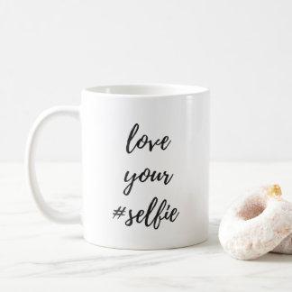 Liebe Ihre #Selfie Klassiker-Tasse Tasse