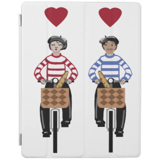 Liebe in Frankreich iPad Smart Cover