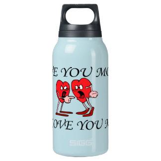 """""""Liebe ist in der heißen Luft"""" u. in der Kälte Isolierte Flasche"""