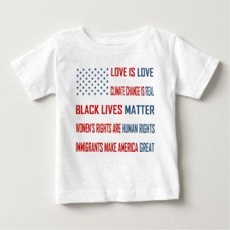 Liebe ist Liebe-Baby-Jersey-T - Shirt