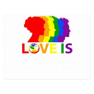 Liebe ist Liebe Postkarte