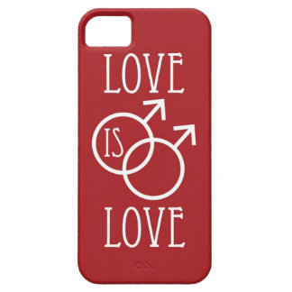 Liebe ist Rot der Liebe-(Mann) Barely There iPhone 5 Hülle