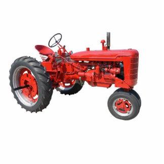 Liebe jene alten roten Traktoren Fotoskulptur Magnet