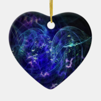 Liebe Keramik Herz-Ornament