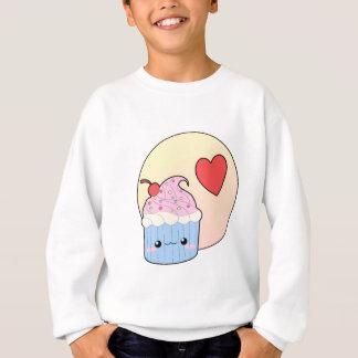 Liebe-kleiner Kuchen Sweatshirt