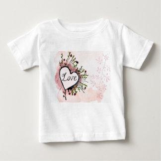 Liebe kundenspezifisches Baby-Shirt Baby T-shirt