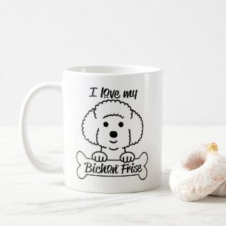 Liebe meine Bichon Frise Tasse