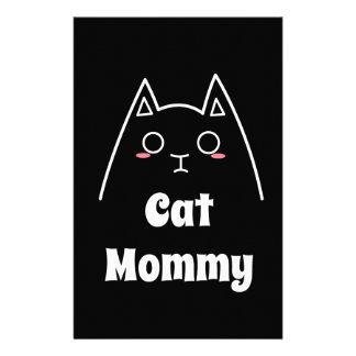 Liebe meine Katzen-Mama Briefpapier