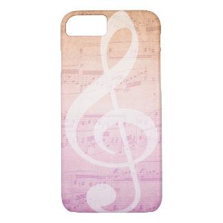 Liebe-Musik iPhone 7 Hülle