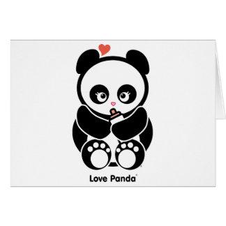 Liebe Panda® Gruß-Karten Karte
