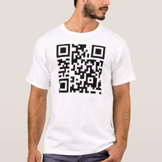 Liebe-ProgrammierungsT - Shirt QR Code-I